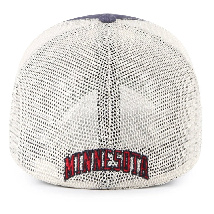 Minnesota Twins Tuscaloosa Navy Mesh-Back '47 Clean Up Hat