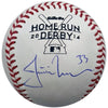 Justin Morneau Autographed 2014 ASG Home Run Derby Baseball Minnesota Twins
