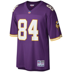 Randy Moss Autographed Purple Throwback Mitchell & Ness Jersey