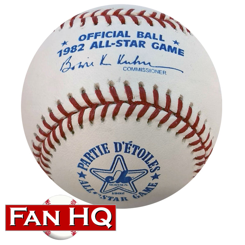 1982 All Star Game Rawlings Official Major League Baseball