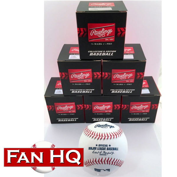 Half-Dozen (6) Rawlings Official Major League Baseballs