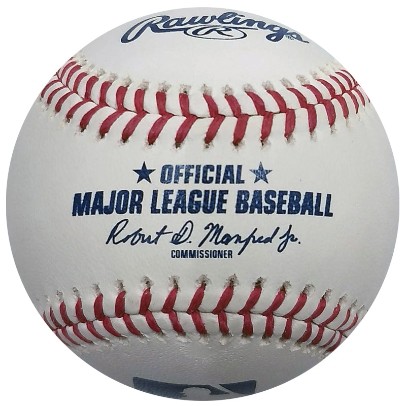 "Gene Larkin Autographed/Inscribed Fan HQ Exclusive Series Walk-Off ""91 Champs"" Baseball (Standard Number)"