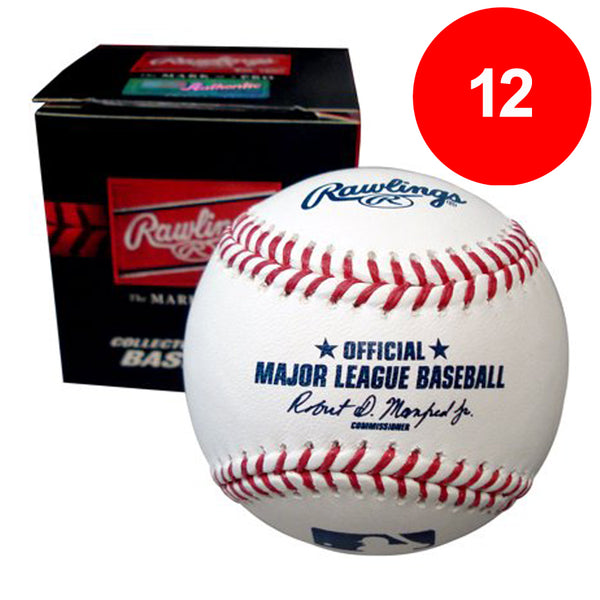Fan HQ Pre-Paid Discount Card: Rawlings Official Major League Baseballs (12) - SAVE $30!