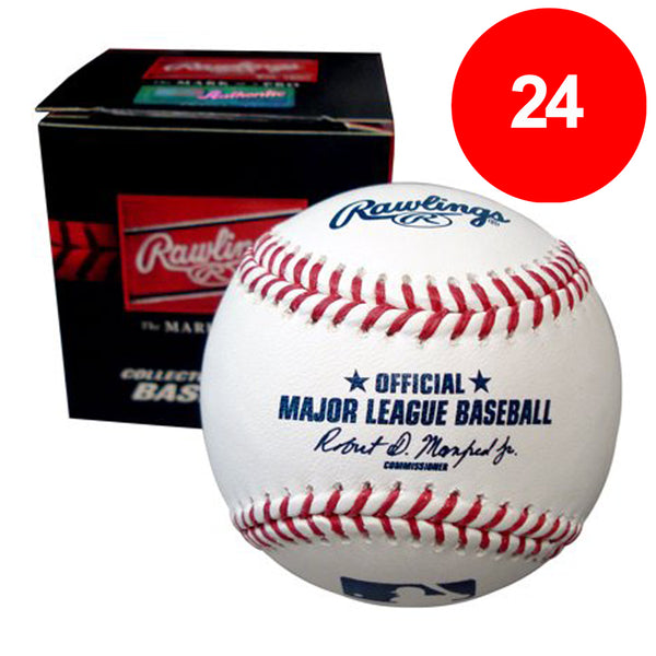 Fan HQ Pre-Paid Discount Card: Rawlings Official Major League Baseballs (24) - SAVE $80!