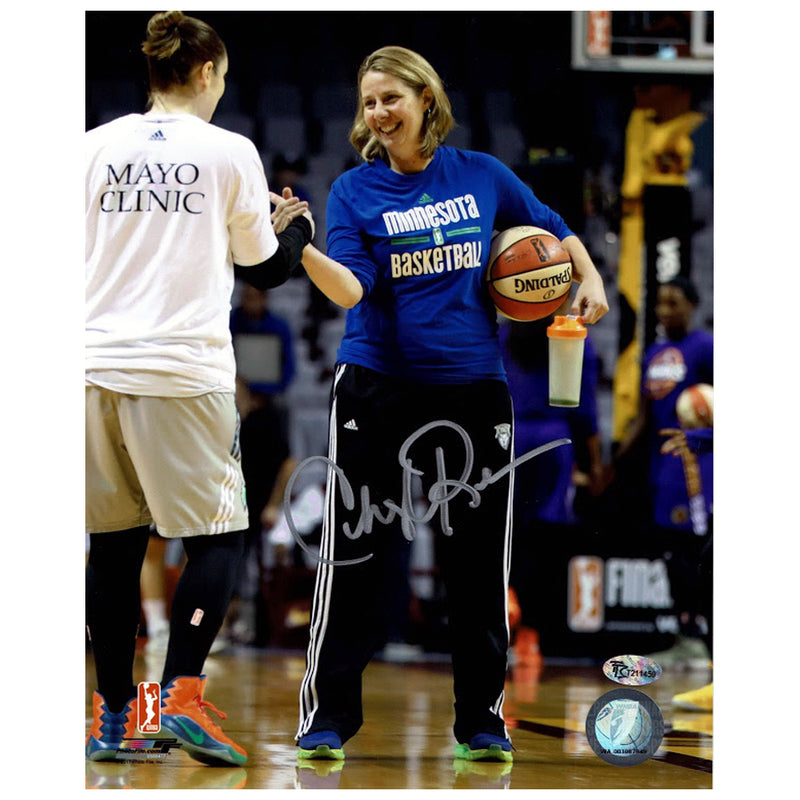 Cheryl Reeve Autographed Minnesota Lynx Action 8x10 Photo