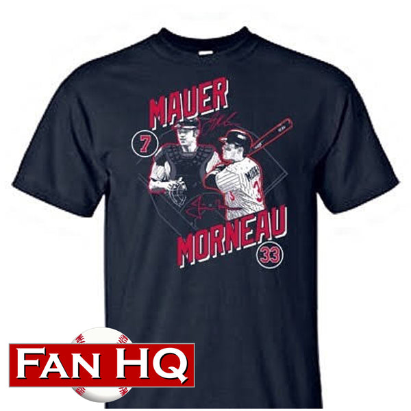 Joe Mauer & Justin Morneau Exclusive 2019 Minnesota State Fair T-Shirt