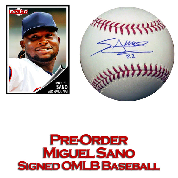 PRE-ORDER Miguel Sano Autographed Rawlings Official Major League Baseball