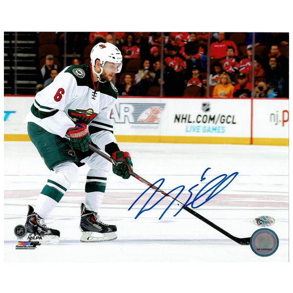 Marco Scandella Autographed Minnesota Wild 8x10 Photo