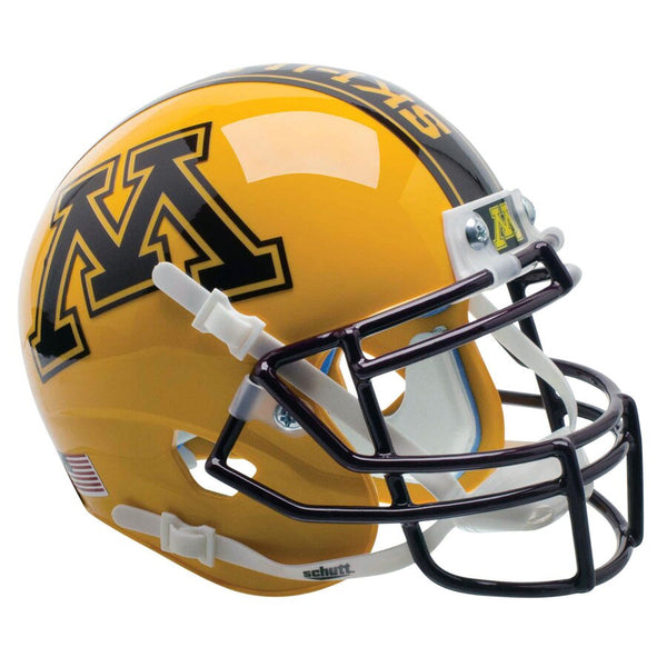 Minnesota Golden Gophers Ski-U-Mah! Schutt Authentic Mini Helmet