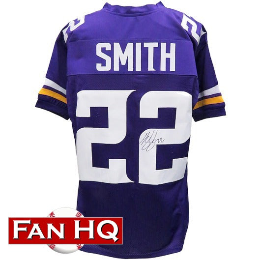Harrison Smith Autographed Purple Pro-Style Jersey