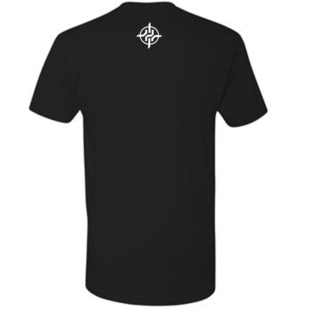 Harrison Smith Exclusive Black The Hitman 22 Front T-Shirt