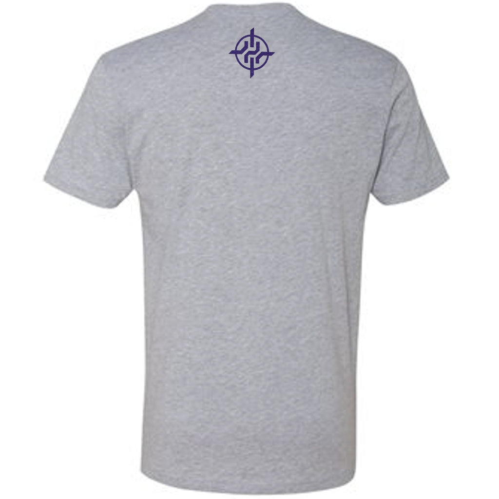 Harrison Smith Exclusive Gray Silhouette Harry The Hitman T-Shirt