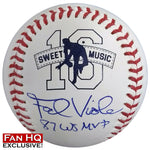 "Frank Viola Autographed/Inscribed Fan HQ Exclusive Nickname ""87 WS MVP"" Baseball (#16/16)"