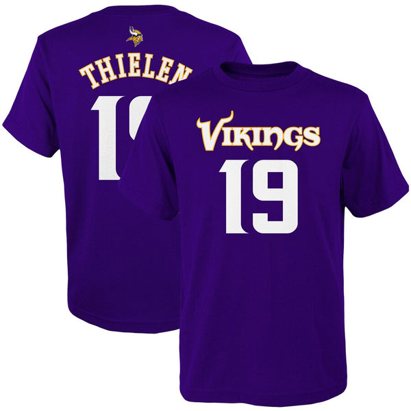 Adam Thielen Minnesota Vikings Youth Mainliner Player Tee T-Shirt