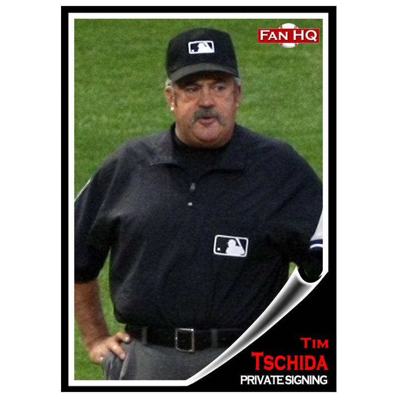 Tim Tschida Private Signing Deluxe Autograph (Your Item)