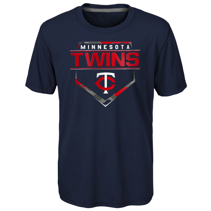 Minnesota Twins Eat My Dust Youth Navy T-Shirt