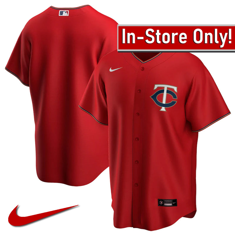 AVAILABLE IN-STORE ONLY! Minnesota Twins Nike 2020 Red Alternate Replica Jersey