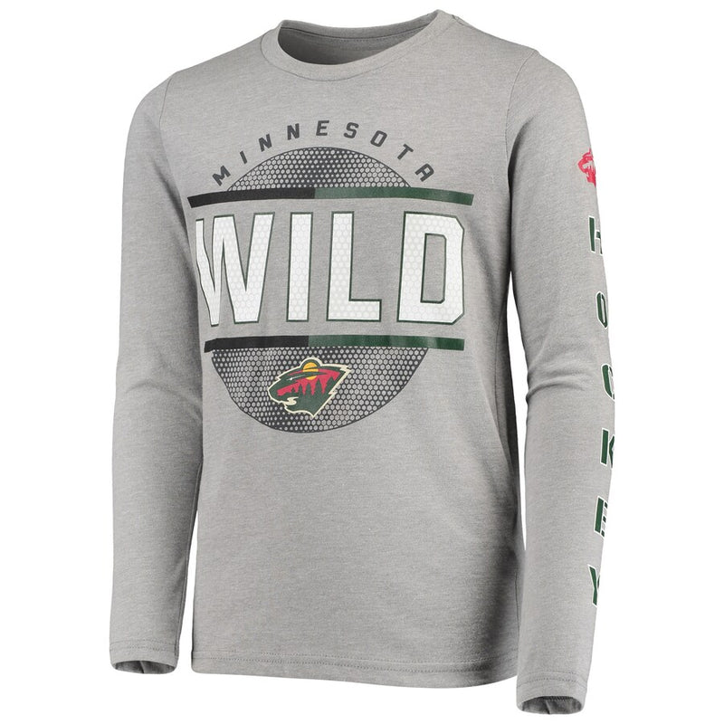Minnesota Wild Youth 3-In-1 Combo Two-Piece Shirt Set