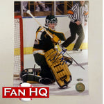 Don Beaupre Autographed Minnesota North Stars 8x10 Photo Action