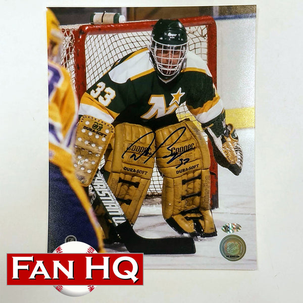 Don Beaupre Autographed Minnesota North Stars 8x10 Photo Net