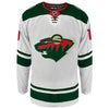 PRE-ORDER Matt Boldy Autographed Minnesota Wild White Authentic Jersey w/ 2019 #1 Pick Inscription (#19/19)