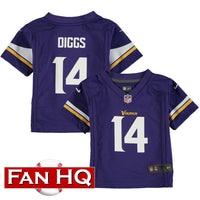 Stefon Diggs Infant Minnesota Vikings Purple Nike Jersey