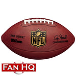 "PRE-ORDER Paul Krause Autographed Wilson NFL ""The Duke"" Authentic Football w/ HOF Inscription"