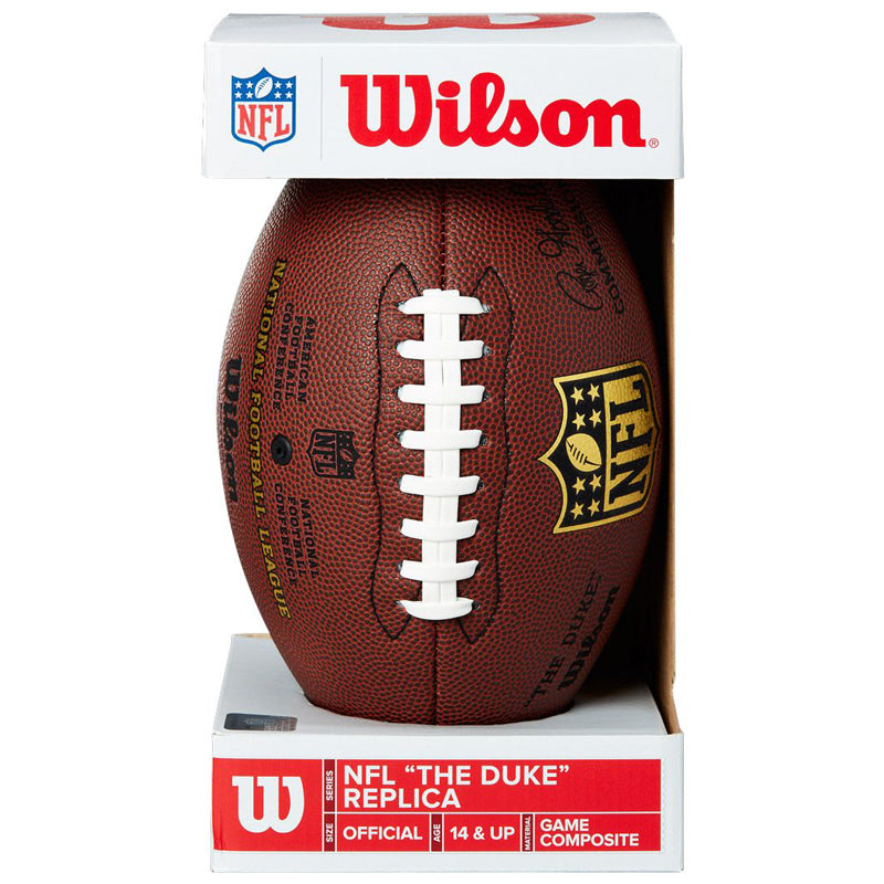 PRE-ORDER Stu Voigt Autographed Wilson Full Size Replica Football