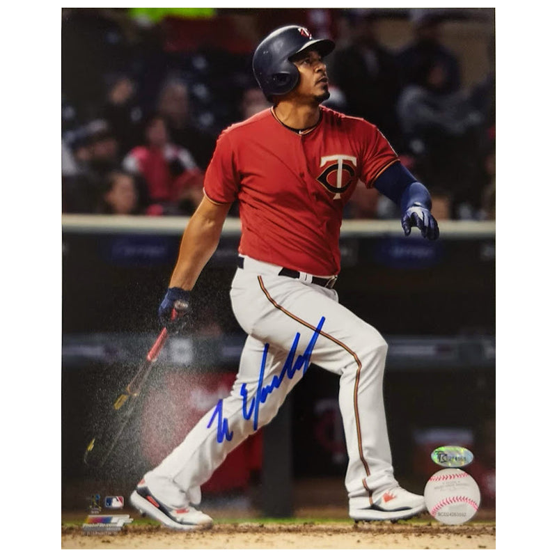 Eduardo Escobar Autographed 8x10 Photo Minnesota Twins