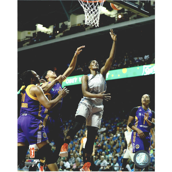 Sylvia Fowles Autographed Minnesota Lynx 8x10 Photo