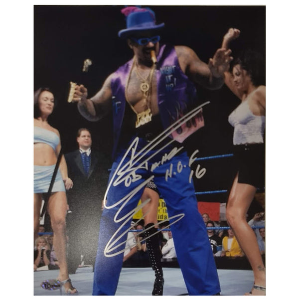 The Godfather Charles Wright Autographed 8x10 Photo WWE Hall of Fame
