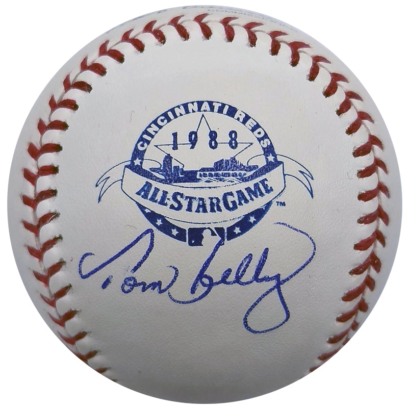 Tom Kelly Autographed 1988 All Star Game OMLB Baseball Minnesota Twins