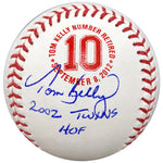 "Tom Kelly Signed and Inscribed ""2002 Twins HOF"" Fan HQ Exclusive Number Retired Baseball Minnesota Twins (Standard Number)"