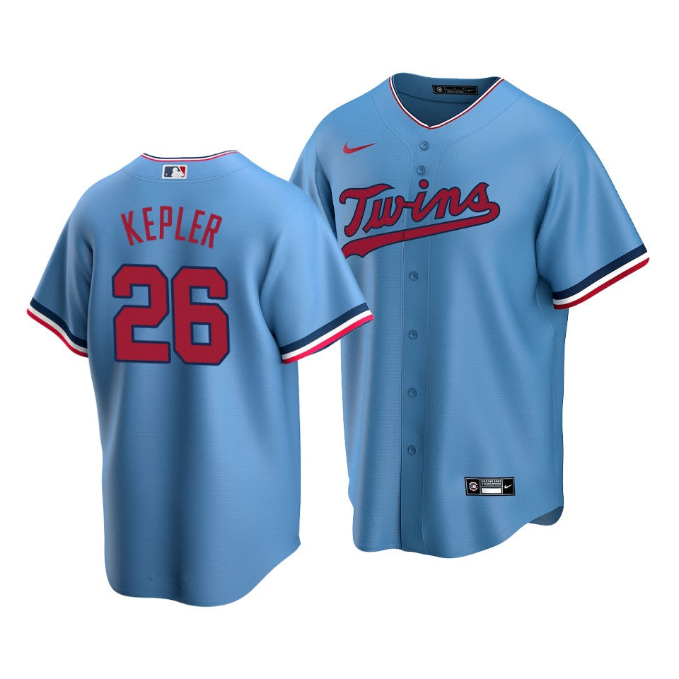 AVAILABLE IN-STORE ONLY! Max Kepler Minnesota Twins Nike 2020 Light Blue Replica Jersey