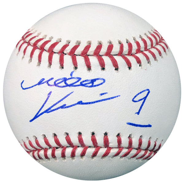 Mikko Koivu Autographed Official Major League Baseball (Standard Number)