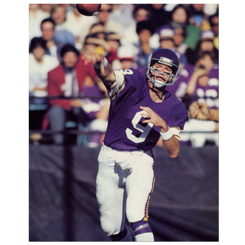 PRE-ORDER Tommy Kramer Autographed Minnesota Vikings 8x10 Photo (Various to Choose From)