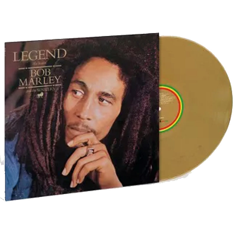"Bob Marley & The Wailers ""Legend"" Limited Gold Vinyl LP"