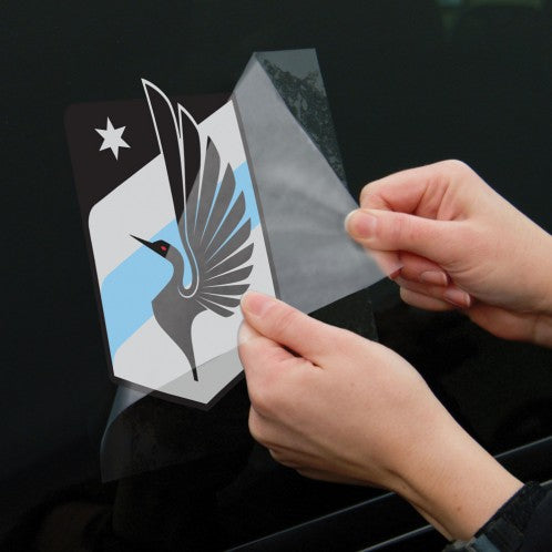 "Minnesota United FC 8"" x 8"" Perfect Cut Color Decal"