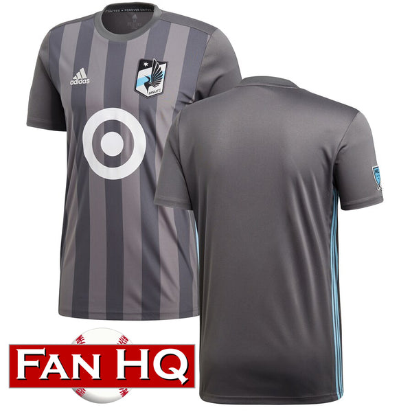 Minnesota United FC Adidas Gray Primary Replica Jersey