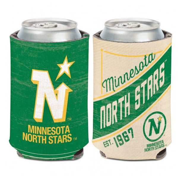 Minnesota North Stars Vintage NHL 2-Sided 12 oz. Can Cooler