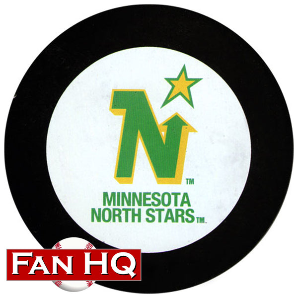 Minnesota North Stars Logo Hockey Puck w/ Case