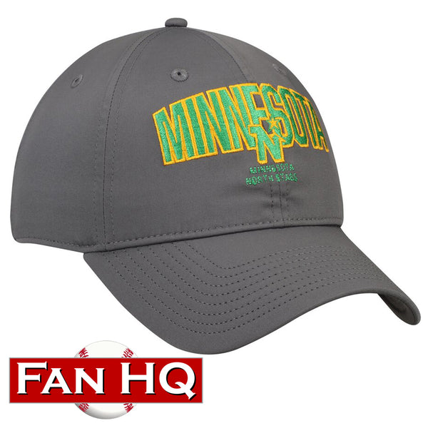 Minnesota North Stars Adidas Culture Speed Arch Slouch Adjustable Hat