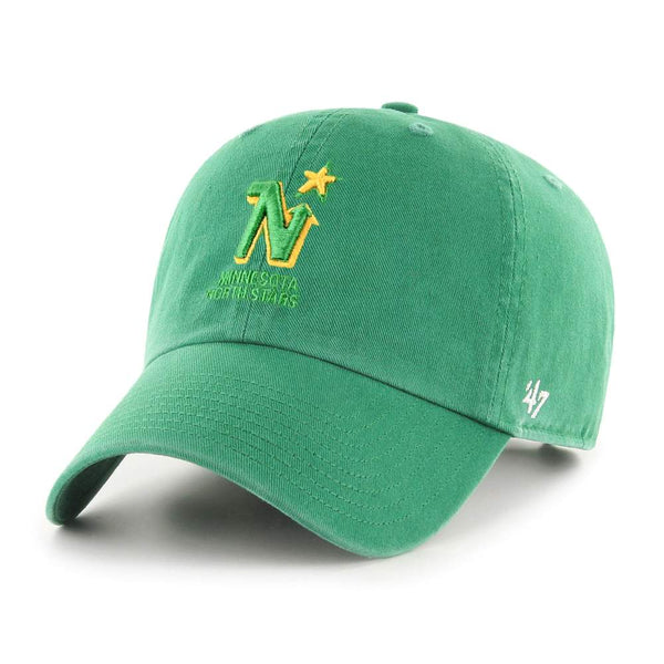 Minnesota North Stars Green Logo '47 Clean Up Hat