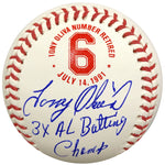 Tony Oliva Signed and Inscribed 3x AL Batting Champ Fan HQ Exclusive Number Retired Baseball Minnesota Twins (Standard Number)