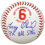 Tony Oliva Signed and Inscribed 8x All Star Fan HQ Exclusive Number Retired Baseball Minnesota Twins (Standard Number)