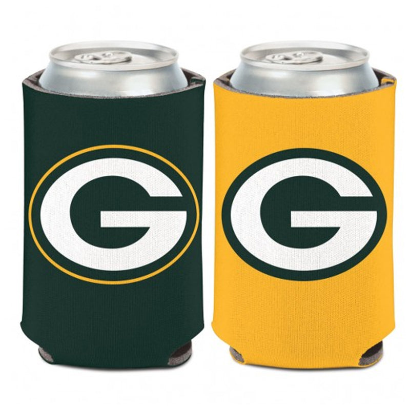 Green Bay Packers Logo 2-Sided 12 oz. Can Cooler