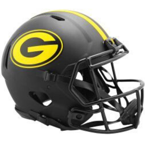 Green Bay Packers Riddell Eclipse Alternate Speed Mini Helmet
