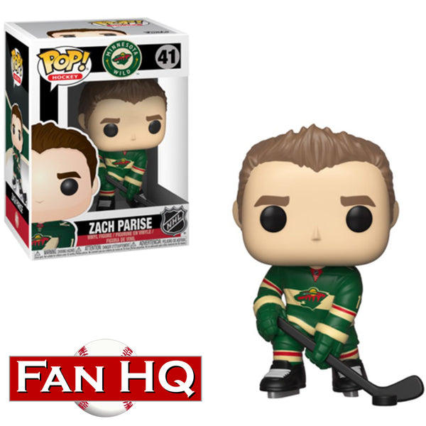 Zach Parise Funko Pop! Vinyl Figure Minnesota Wild