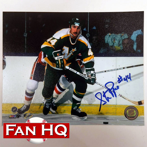 Steve Payne Autographed Minnesota North Stars 8x10 Photo #44