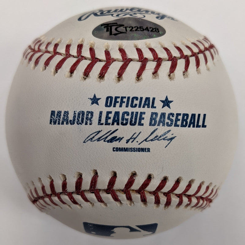 Rich Rollins Autographed Official Major League Baseball Minnesota Twins